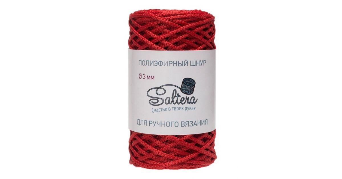 Шнур полиэфирный Saltera Красный, 7